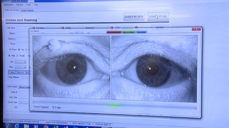 Richland County Sheriff's Office first in Ohio to use biometric iris